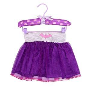 Girl's Size 4-6 Batgirl Tutu Dress Up